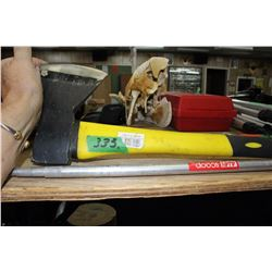 Yellow Handled Axe