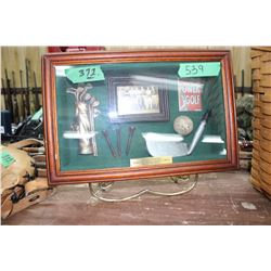 Framed Golfing Display - Ken Kowalsky