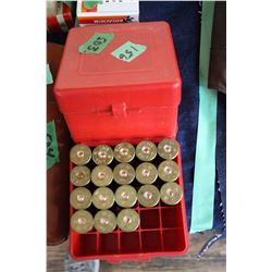 12 ga. Ammo - 29 pcs - in 2 Red Boxes
