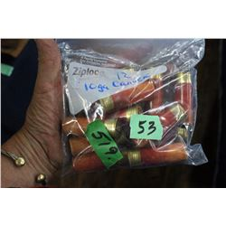Bag of 12 - 10 ga. Canuck Shotgun Shells
