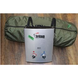 Portable Shower (2 pcs. - Heat Tank & Green Bag)