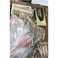 Flat of 30.06 SPRG Brass