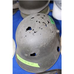 WWI German Helmet - dug up in France