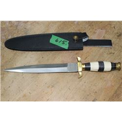 Dagger w/Bone Handle
