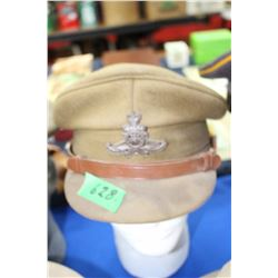 WWII Officer's Artillery Hat
