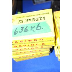 6 Boxes of 223 Remington Ammo