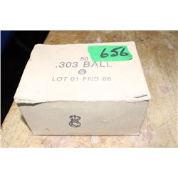Box of 50 - 303 Ball
