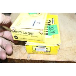 2 Boxes of 9mm Luger