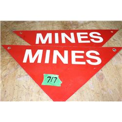 2 Mine Warning Signs