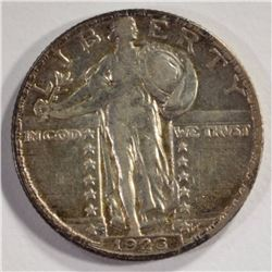 1926-S STANDING LIBERTY QUARTER, XF/AU