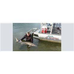 Sturgeon Fishing in British Columbia for 4