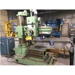 "Zelueza Radial Arm drill 3 ft arm 12"" column Type RB40"