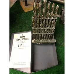 Metric drill bits index box sized 1-13
