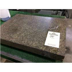 "Granite surface  plate 24"" X 18"" X 5"""