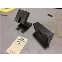 Misc Angle plates Lot of Two