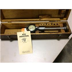 Hemco dial  bore gauge 3point 2inch and measure in tenths