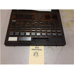 Gauge blocks .100 -3 inch