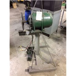 "12"" Disk grinder General electric motor 3 phase 220"