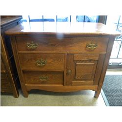 CANADIANA OAK CABINET