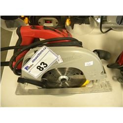 MILWAUKEE 15 AMP CIRCULAR SAW