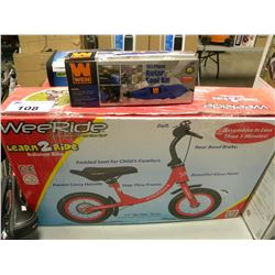 BOXED WEERIDE LEARN 2 RIDE BIKE/WEN ROTARY TOOL KIT