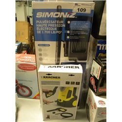 SIMONIZ POWERWASHER & KARCHER HOSE ATTACHMENT