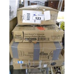 7 BOXES OF UPPER BOUNCE 8' FT ENCLOSURE NETS