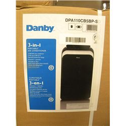 NEW IN BOX DANBY 3-IN-1 PORTABLE AIR CONDITIONER DPA110CB5BP-SD