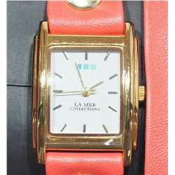 LA MER COLLECTIONS SPECIAL EDITION LADIES WRAP WATCH