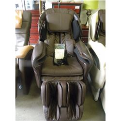 NEW TITAN TP-8400 BROWN LEATHER MASSAGE CHAIR WITH REMOTE