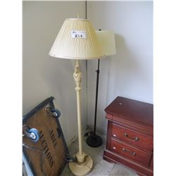 VINTAGE  FLOOR LAMP (ESTATE GOODS)