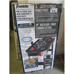 "FRANKLIN ZERO GRAVITY SPORTS 48"" AIR HOCKEY TABLE"