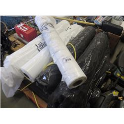9 ROLLS OF PICASSO PLASTIC SHEETING