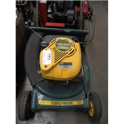 "YARDMAN 6HP LAWNMOWER WITH 21"" BLADE"