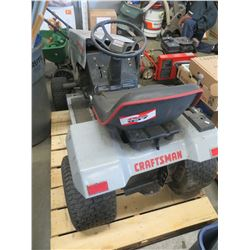"CRAFTSMAN GOLD 38"" 12.5 RIDE ON MOWER"