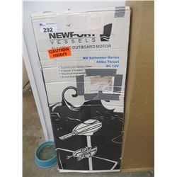 NEWPORT VESSELS ELECTRIC OUTBOARD MOTOR