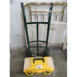 TOOLBOX AND CONTENTS/2 WHEEL DOLLY