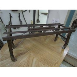 Wooden tub stand