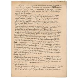Frederick the Great Autograph Letter Signed