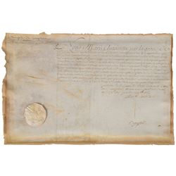 Marie Antoinette Signed Document