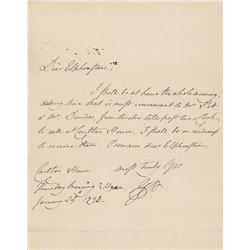 King George IV Autograph Letter Signed