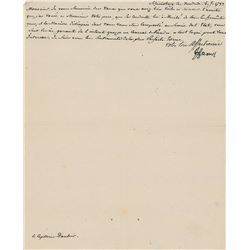 Prince Henry of Prussia Signed Letter