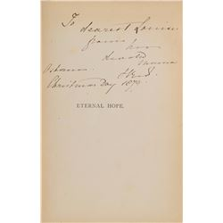 Queen Victoria Signed Book Inscribed to Princess Louise