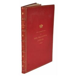 Queen Victoria Books Bound for the Palace