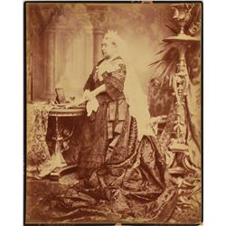 Queen Victoria Oversized Signed Photo