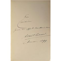 King Edward VII Signed Book