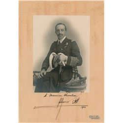 King Alfonso XIII Signed Photo