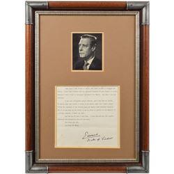 King Edward VIII Signed Speech