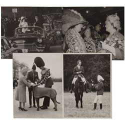 The Queen Mother, Queen Elizabeth II, and Princess Anne Photographs