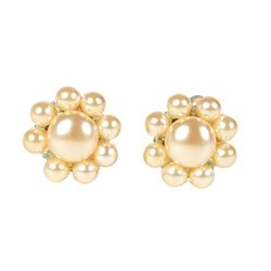 Princess Diana Personally-Owned and -Worn Pearl Earrings
